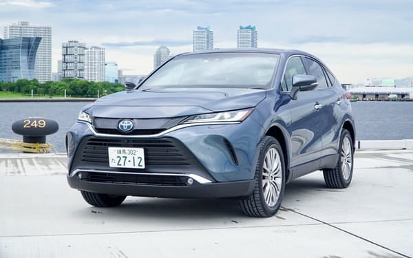 「日本人向け」に作られた多目的スポーツ車(SUV)、4代目「ハリアー」(税込み299万~504万円)