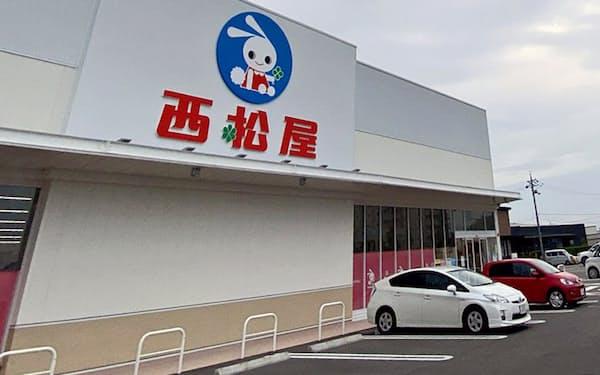 敷地面積を確保できる郊外店が多い(兵庫県小野市の店舗)