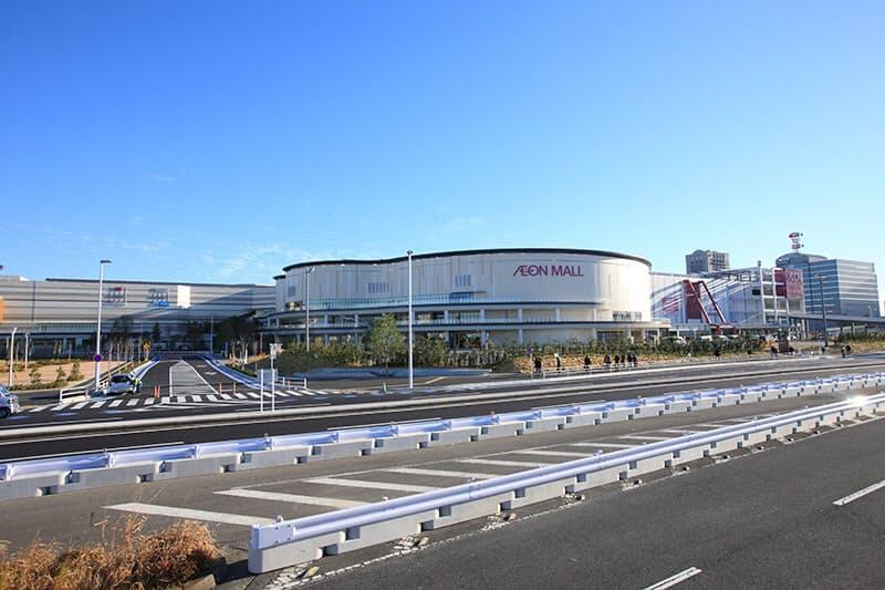 海浜 幕張 駅 から イオン モール 幕張 新 都心