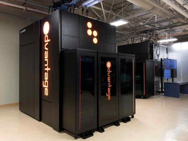 5000量子ビットを搭載する「Advantage」(出所:カナダD-Wave Systems)