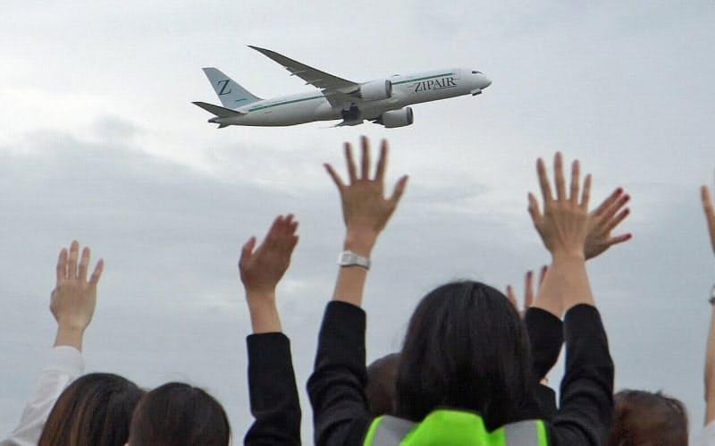 ジップエア、3カ月遅れのソウル線旅客便就航