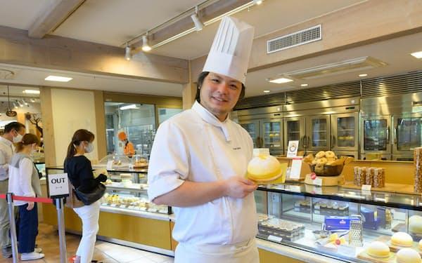 たねやの洋菓子部門では若いシェフらによる新しい菓子が次々に商品化された(写真:宮田昌彦)