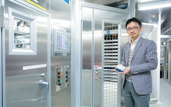 松田浩一さんが運営者を務めるバイオバンク・ジャパンには27万人ものDNAが保管されている(DNA保管倉庫)