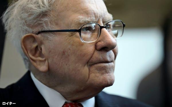 5大商社に出資したウォーレン・バフェット氏率いる米バークシャー・ハザウェイ=ロイター