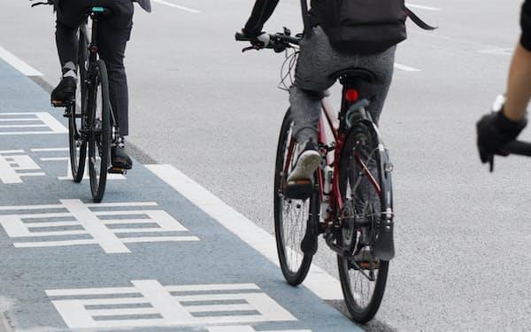 業務中の自転車事故は、6月以降の増加が顕著だった