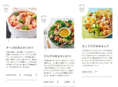 ゴーストレストラン研究所は複数のブランドを展開する