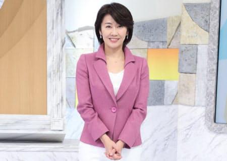 「Newsモーニングサテライト」のキャスター、佐々木明子さん