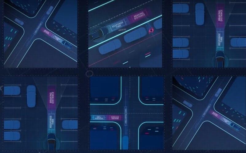 イスラエル・モービルアイは、安全な自動運転ソフトにするための考え方を提案する。前後方向の距離や交差点における動作など多くの場面の制御方法を定式化し、標準化することを目指す(出所:モービルアイ)