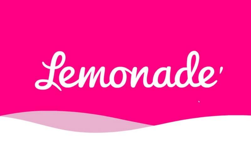 レモネードのスマホアプリの立ち上げ画面