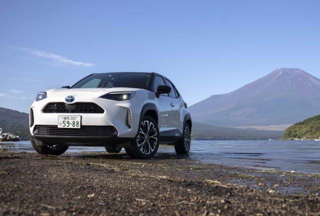 好調な売れ行きのコンパクトSUV「トヨタ・ヤリス クロス」。ハイブリッドモデルに試乗して実力を確かめた(写真:郡大二郎、以下同)