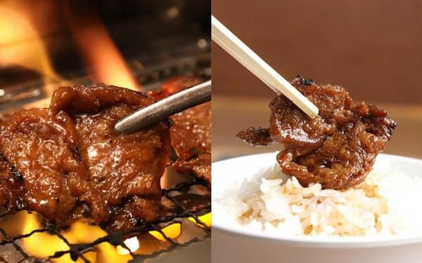 「焼肉ライク」では全店舗で植物由来の「代替肉」の焼き肉が楽しめる