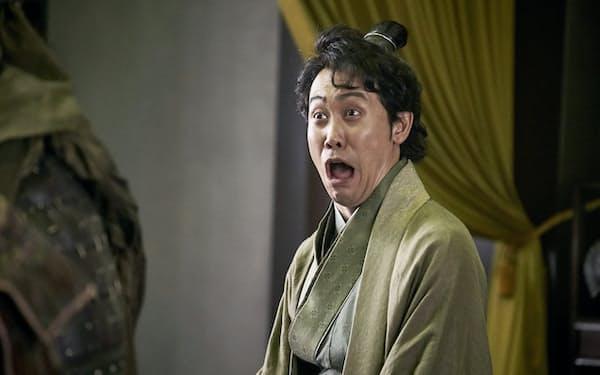 大泉洋の劉備ははまり役(c)2020映画『新解釈・三國志』製作委員会