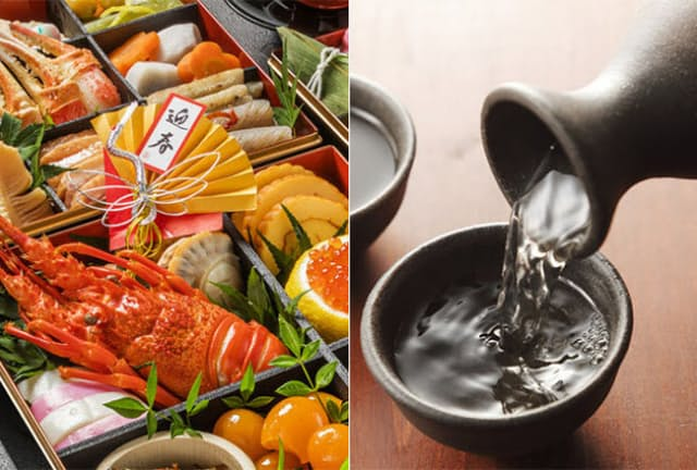 お正月太りの原因は、おせち料理なのか、酒の飲み過ぎなのか……。 (c)kappachan-123RF (c)wnaoki-123RF