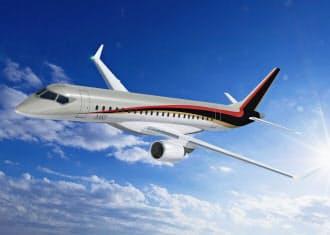 三菱航空機が開発中のMRJ。GTF(Geared Turbo Fan)エンジンを搭載し大幅な燃費向上を目指している
