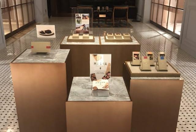 ポール・スチュアート青山本店に「マーハ チョコレート」のポップアップを設ける
