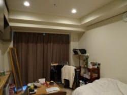 中村さんの部屋。従来インテリアの部屋の友達から羨ましがられることもしばしば