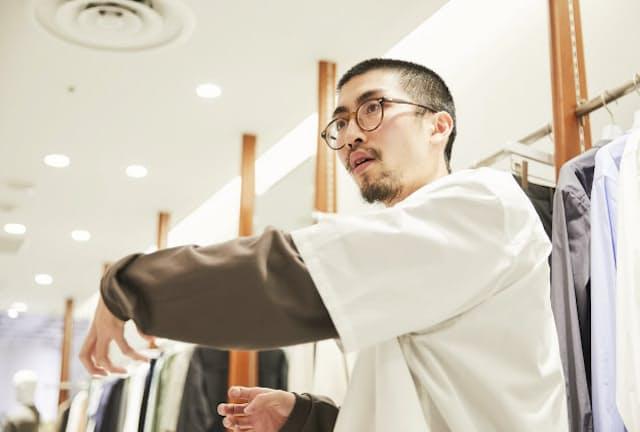 ADAM ET ROPE'渋谷PARCO店の神原啓助さん