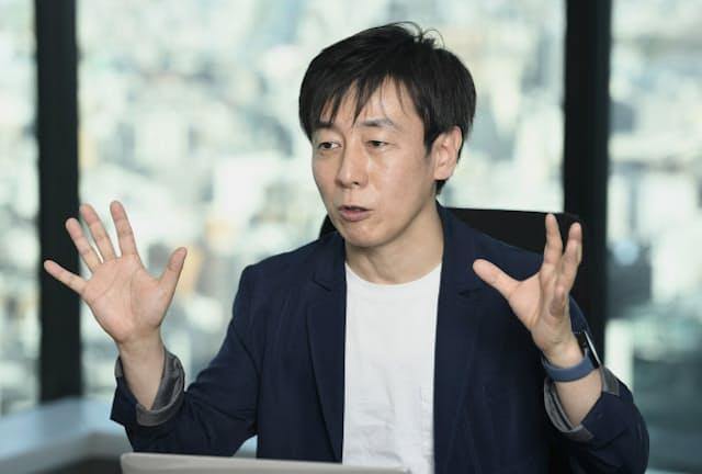 サイボウズ社長 青野慶久氏
