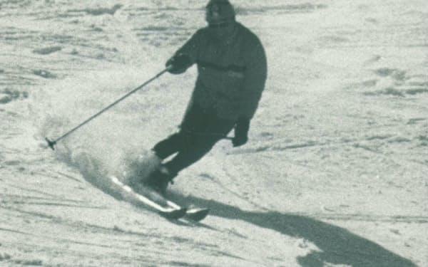 スキーと山に明け暮れた