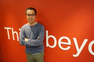 「ニューズピックス」を運営するユーザベースの梅田優祐共同代表