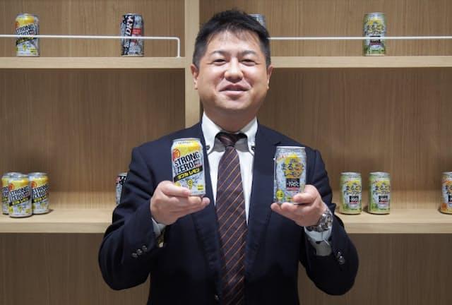 サントリースピリッツRTD部の井島隆信課長