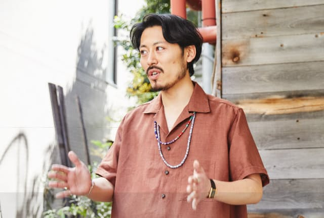 MAIDENS SHOPスタッフの山田和弘さん