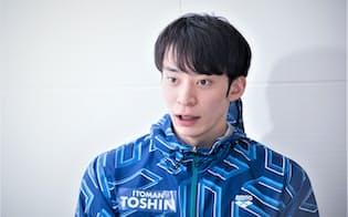 東京五輪代表の切符をつかんだ入江選手。五輪では競泳日本代表の主将を務める