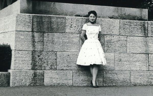 東西ベルリンの境界近くで(1960年)