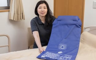 要介護者の排せつを匂いで検知するセンサーパッドを開発したabaの宇井吉美CEO