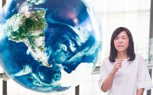 4月に日本科学未来館の新館長に就任した浅川智恵子さん