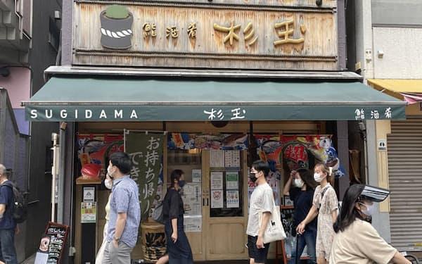 「杉玉」神楽坂店