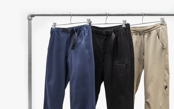 休日の街着にも使えるはっ水パンツを紹介