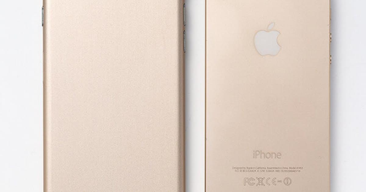 iPhone6は「薄く、丸く」 中国製模型を検証