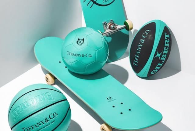 ティファニーがスポーツをテーマにしたキャンペーンで販売する商品