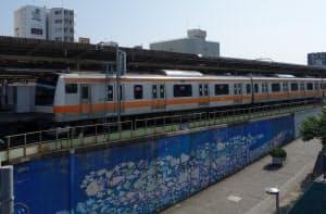 中野駅ビルの建設予定地