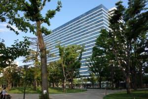 キリンホールディングスなどの本社が移転してきたオフィスビル