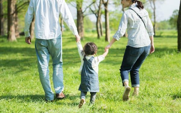 男性の育休取得率は7.48%にとどまる(写真はイメージ)=PIXTA