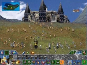 「ファーストクイーン ザ・ニューワールド」のゲーム画面