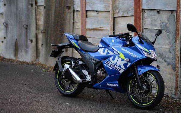 スズキ「ジクサーSF250」。価格は税込みで48万1800円