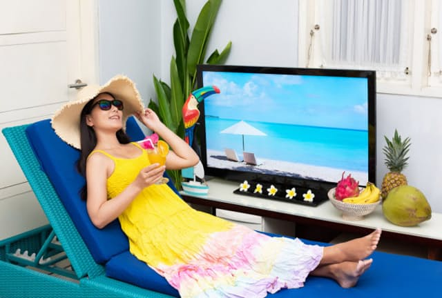 夏休みは海外ドラマでステイホーム(写真はイメージ=PIXTA)