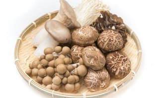 キノコをよく食べる人はがんのリスクが低くなる可能性が示されました。(写真=123RF)
