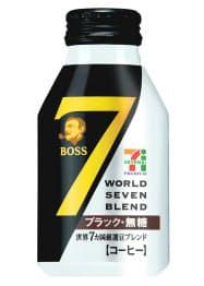 4月に発売した「ワールドセブンブレンド」シリーズのボトル缶商品