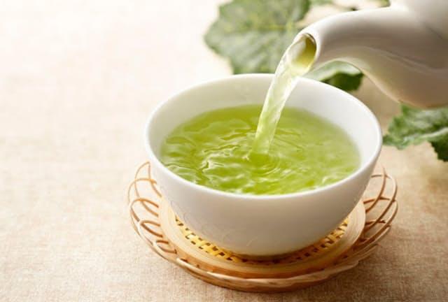 最近では、緑茶の健康効果は一般にもよく知られるようになってきた。(写真はイメージ=123RF)