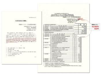 関東地方のあるコンクリート圧送工事会社から元請けの建設会社に届いた料金改定の要望書。基本料金や圧送料単価は「建築施工単価」(経済調査会刊)の価格より5割以上高い