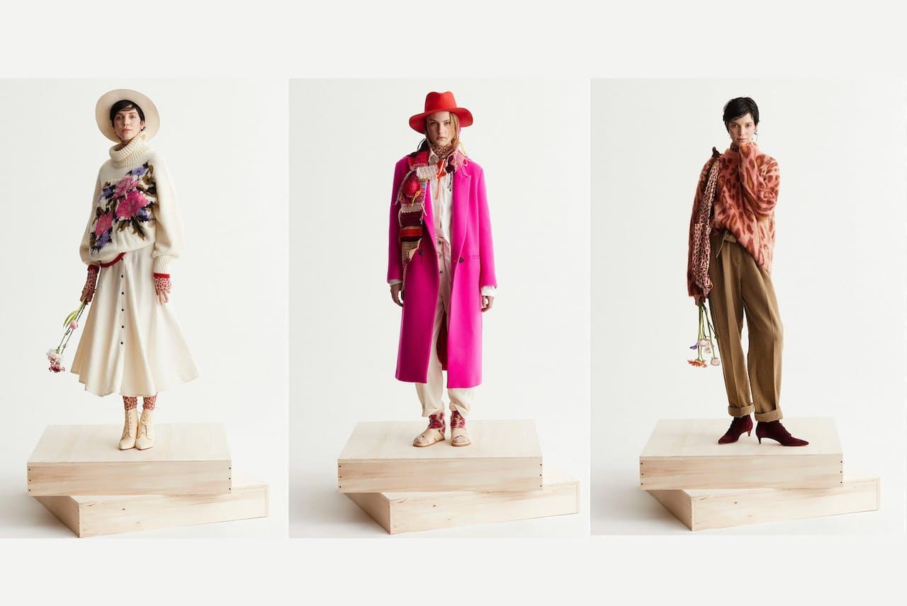 高田賢三流「花柄・マルチカラー」に注目が集まっている forte_forte 2021-22年秋冬コレクション