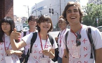 プログラムに参加した学生の国籍は様々で、初来日という海外学生も多い。東大生と町に出て見つけたものとは……