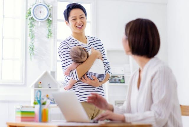 リモートワークの増加は子育て環境も変えつつある(写真はイメージ) =PIXTA