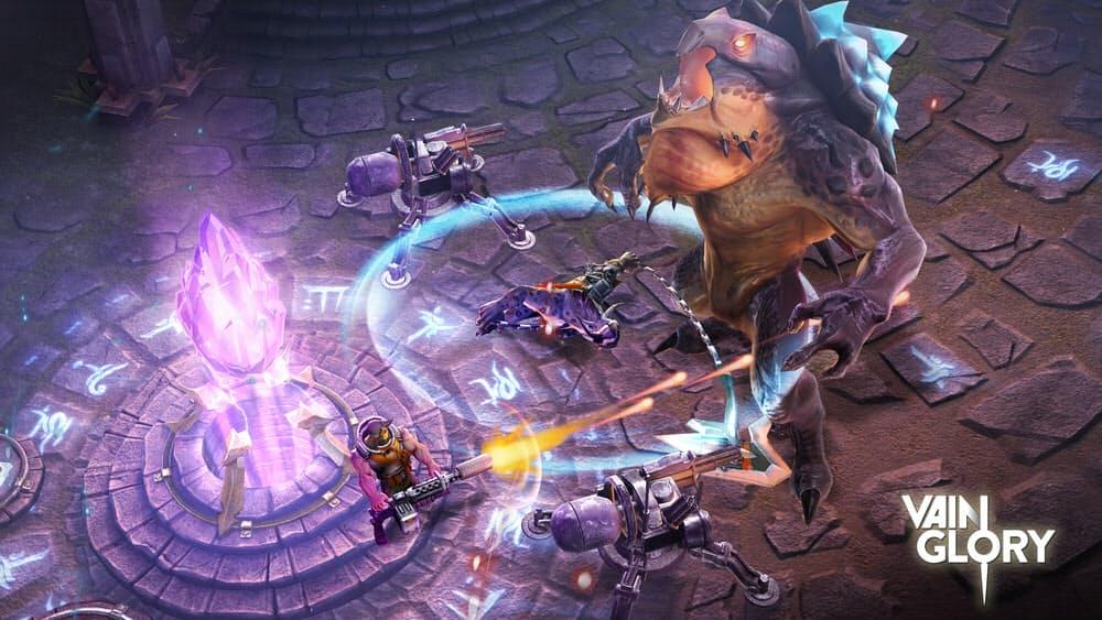 ヴェイングローリーのゲーム画面