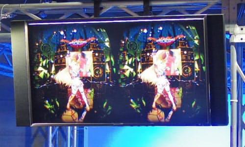 「ユニティちゃん」のVRライブコンテンツの映像