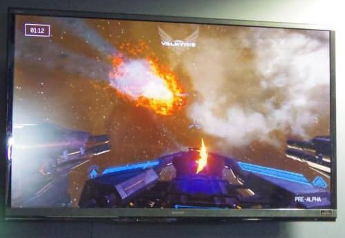 シューティングゲーム『EVE: VALKYRIE』の映像